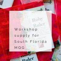 South Florida Modern Quilt Guild