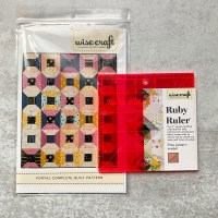 Portal quilt pattern/ruler combo