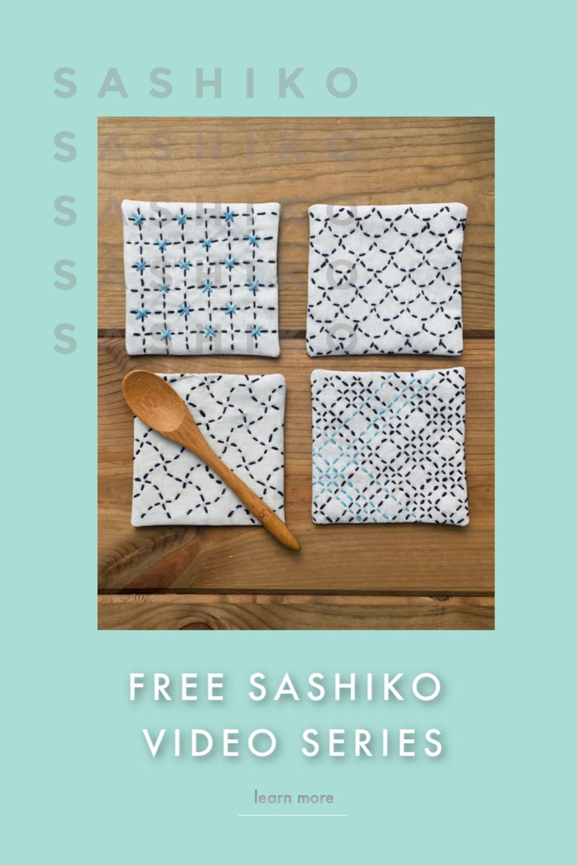 Free Sashiko Video Series