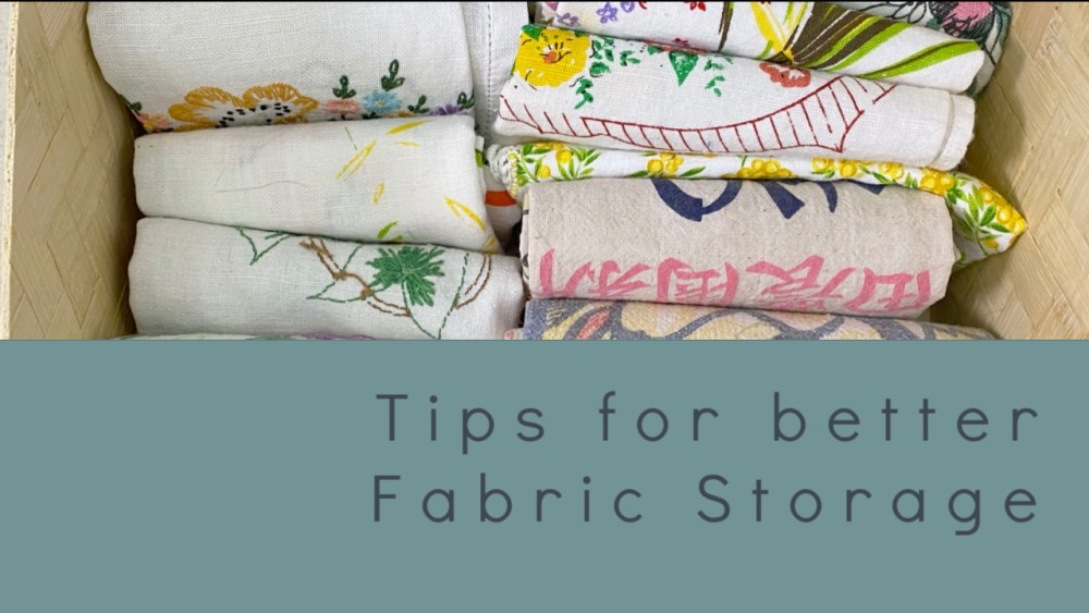 Quilting Fabric Storage Studio