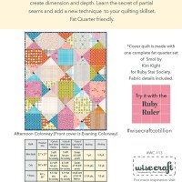 Cotillion Quilt Pattern