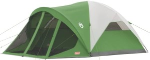 Coleman Dome Tent With Screen Room