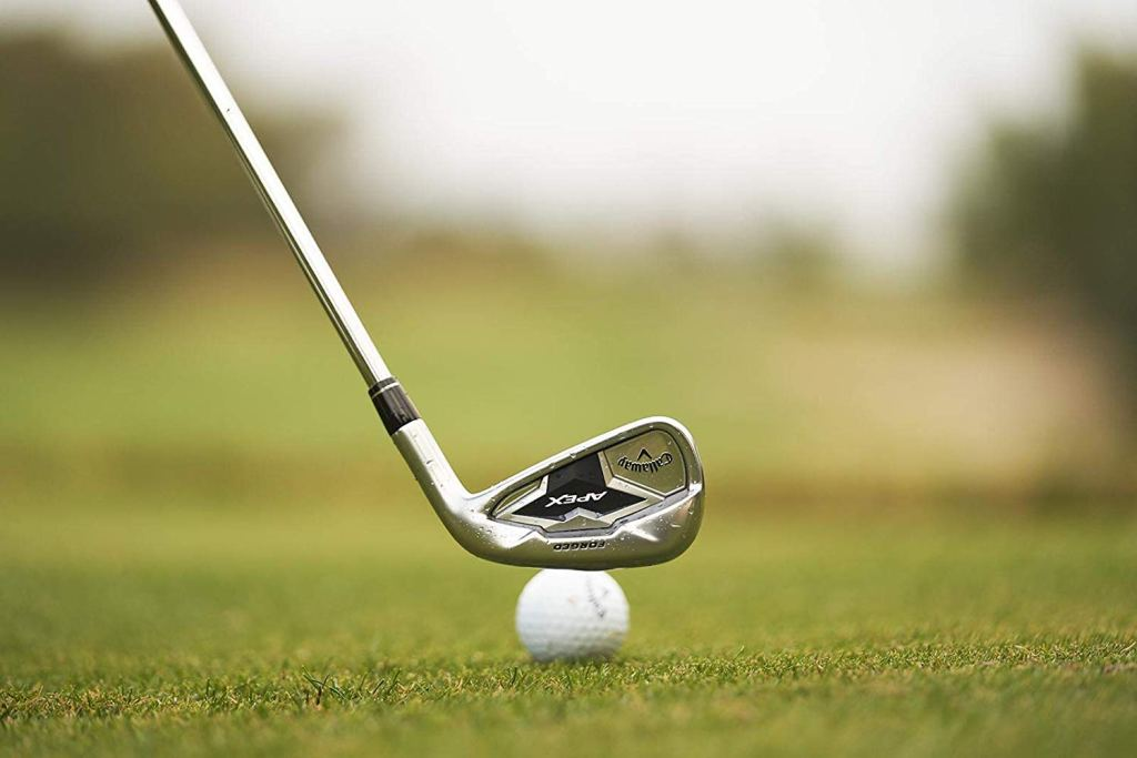 Callaway apex irons faster face