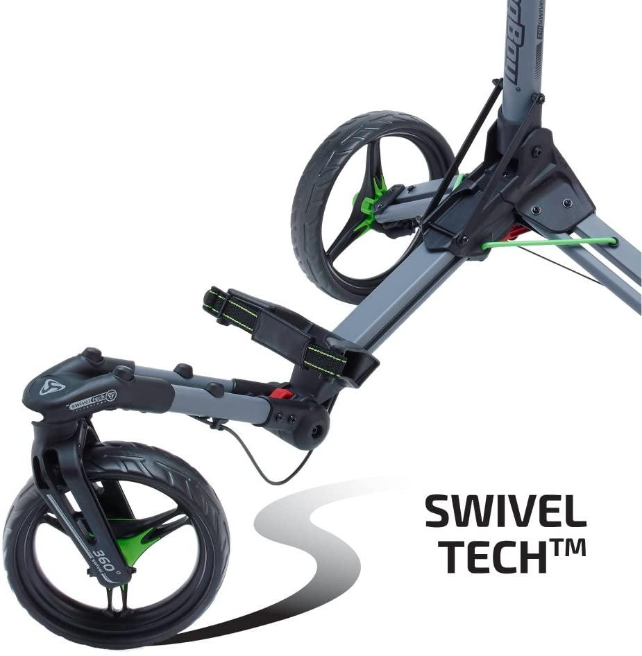 TriSwivel II 3 wheel golf pushcart