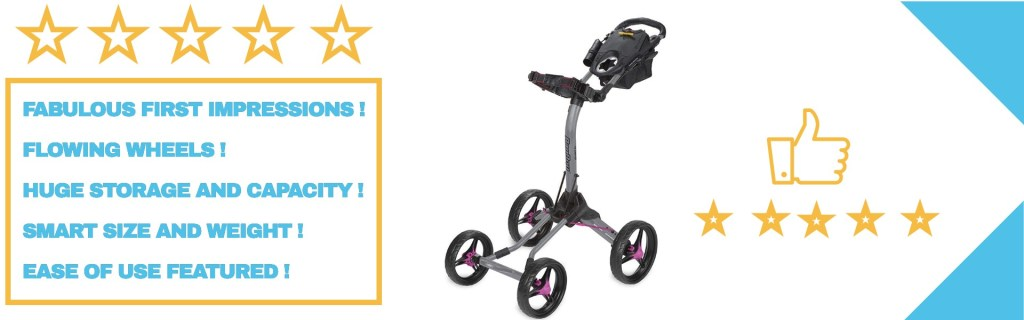 Bag boy quad xl pushcart