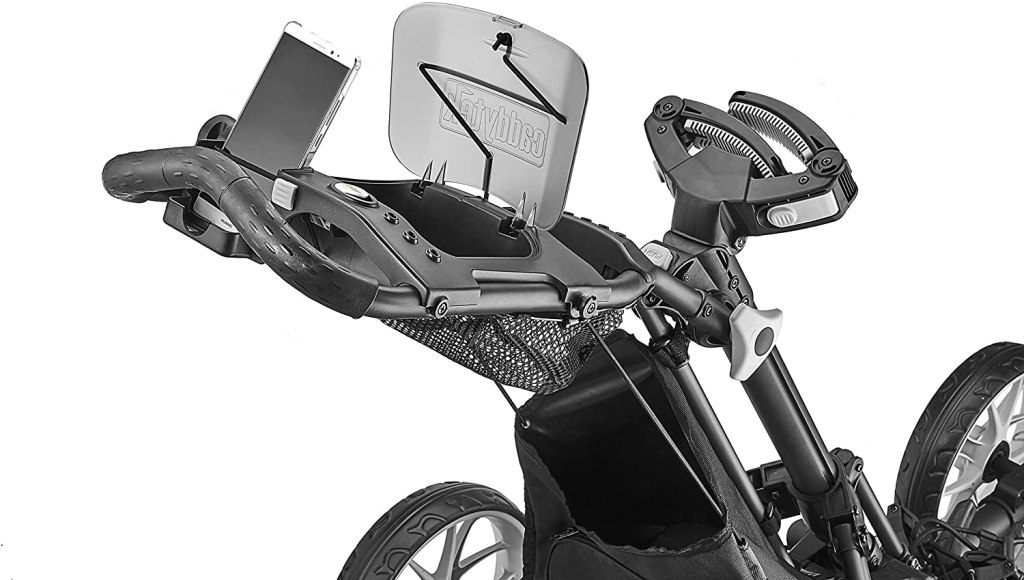 Caddytek explorer pushcart upper storage