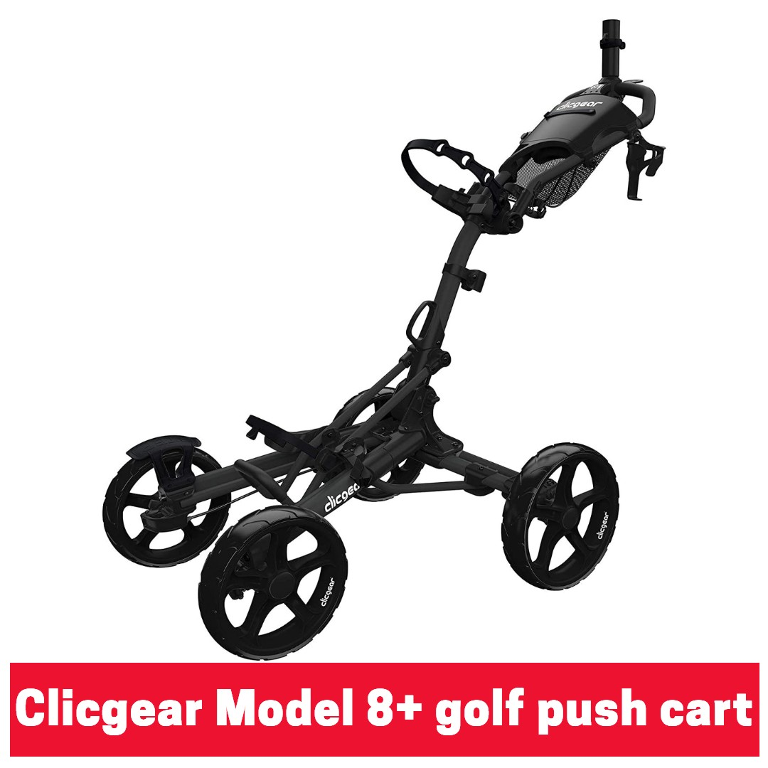 Clicgear Model 8+ golf push cart