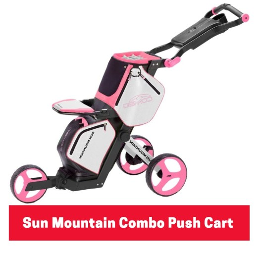 Sun Mountain Combo Push Cart
