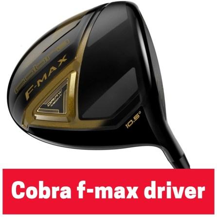 Cobra F-Max Driver
