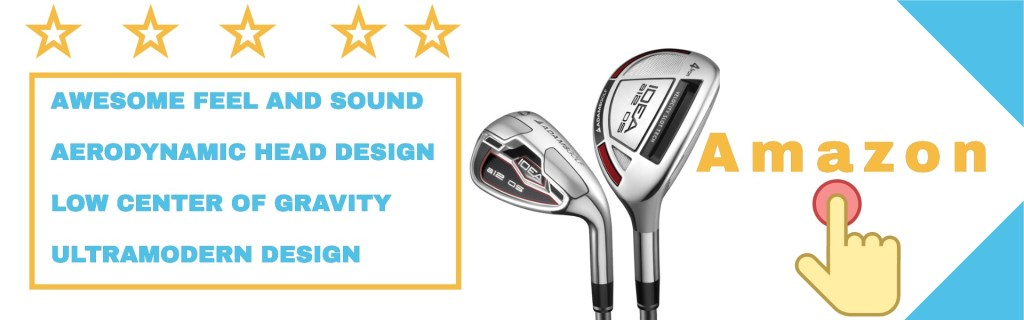 the Adams idea a12os irons from user experiences.
