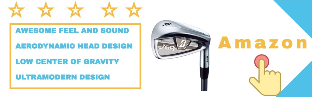 Bridgestone Tour B JGR HF1 irons from user experiences.
