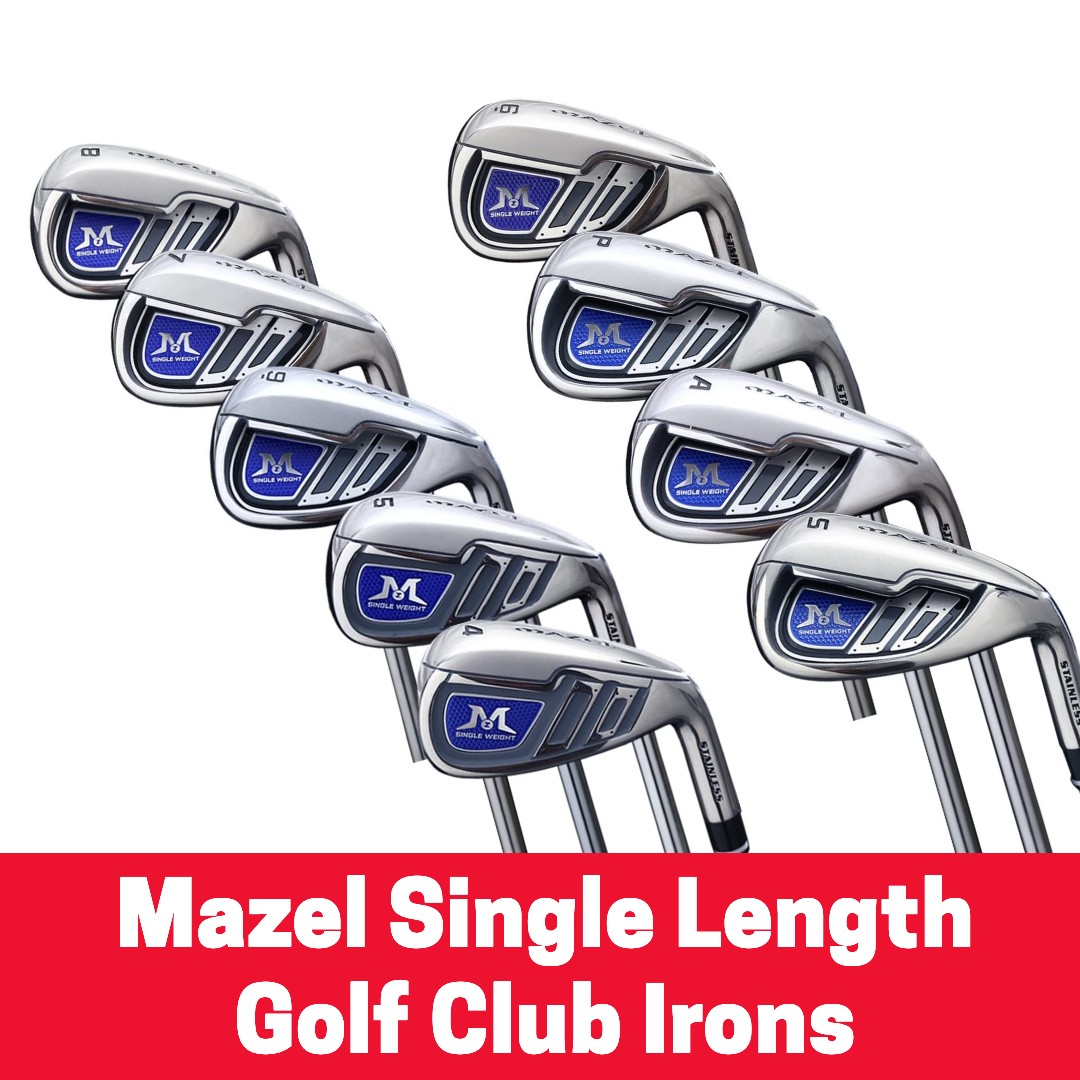 Mazel Single Length Golf Club Irons