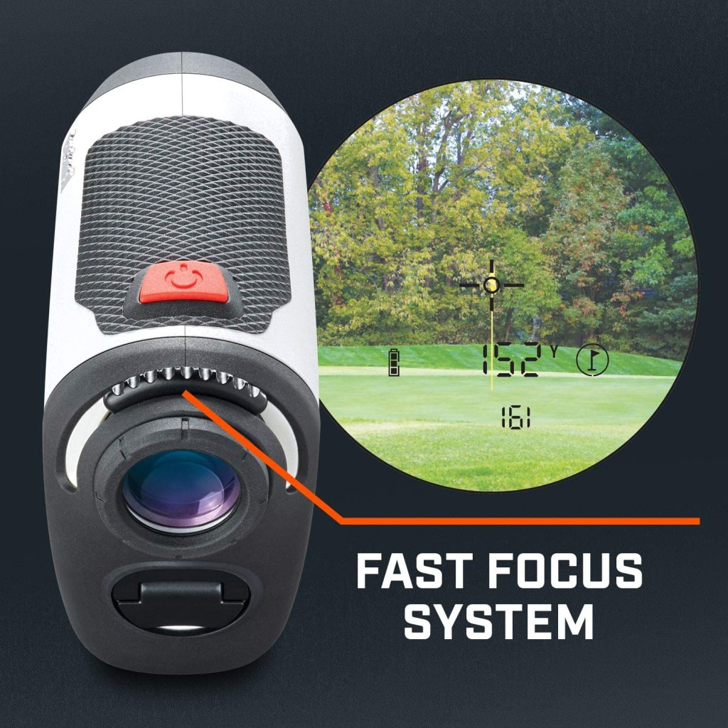 Bushnell Tour V4 golf laser rangefinder is the better version of their preceding wildly general laser golf rangefinder Tour V3