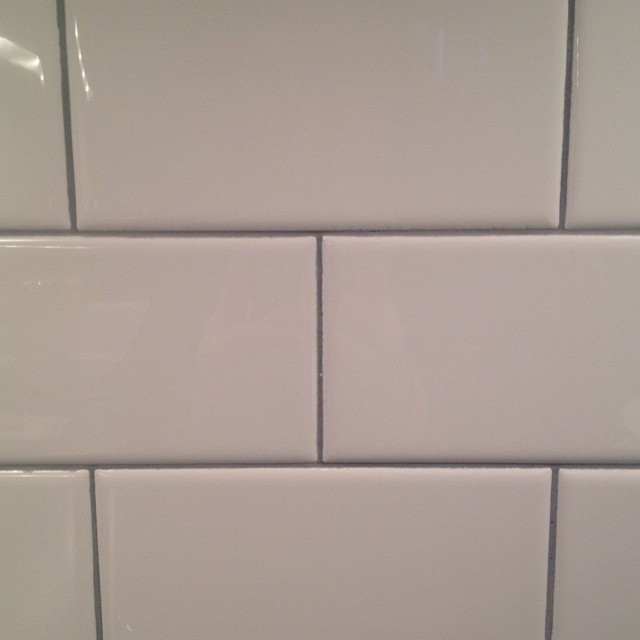 professional grout installation and