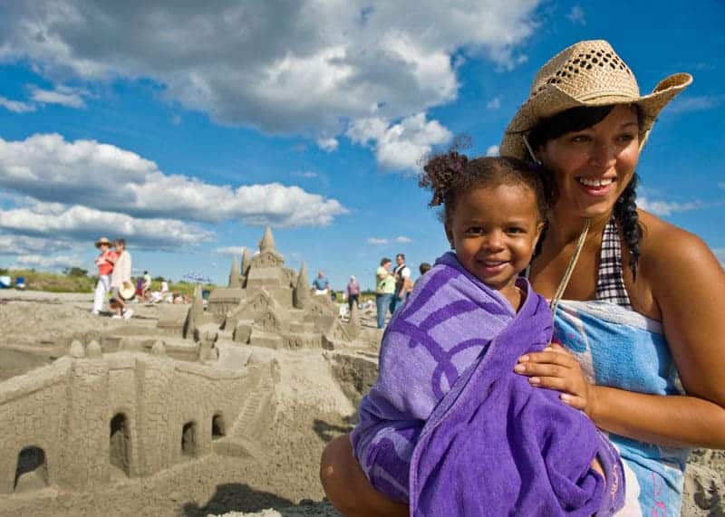 Clam Harbour Sandcastle Competition Beach
