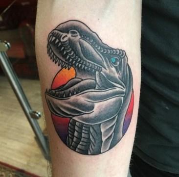 t rex tattoo