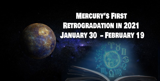 first Mercury retrograde cycle of the year 2021