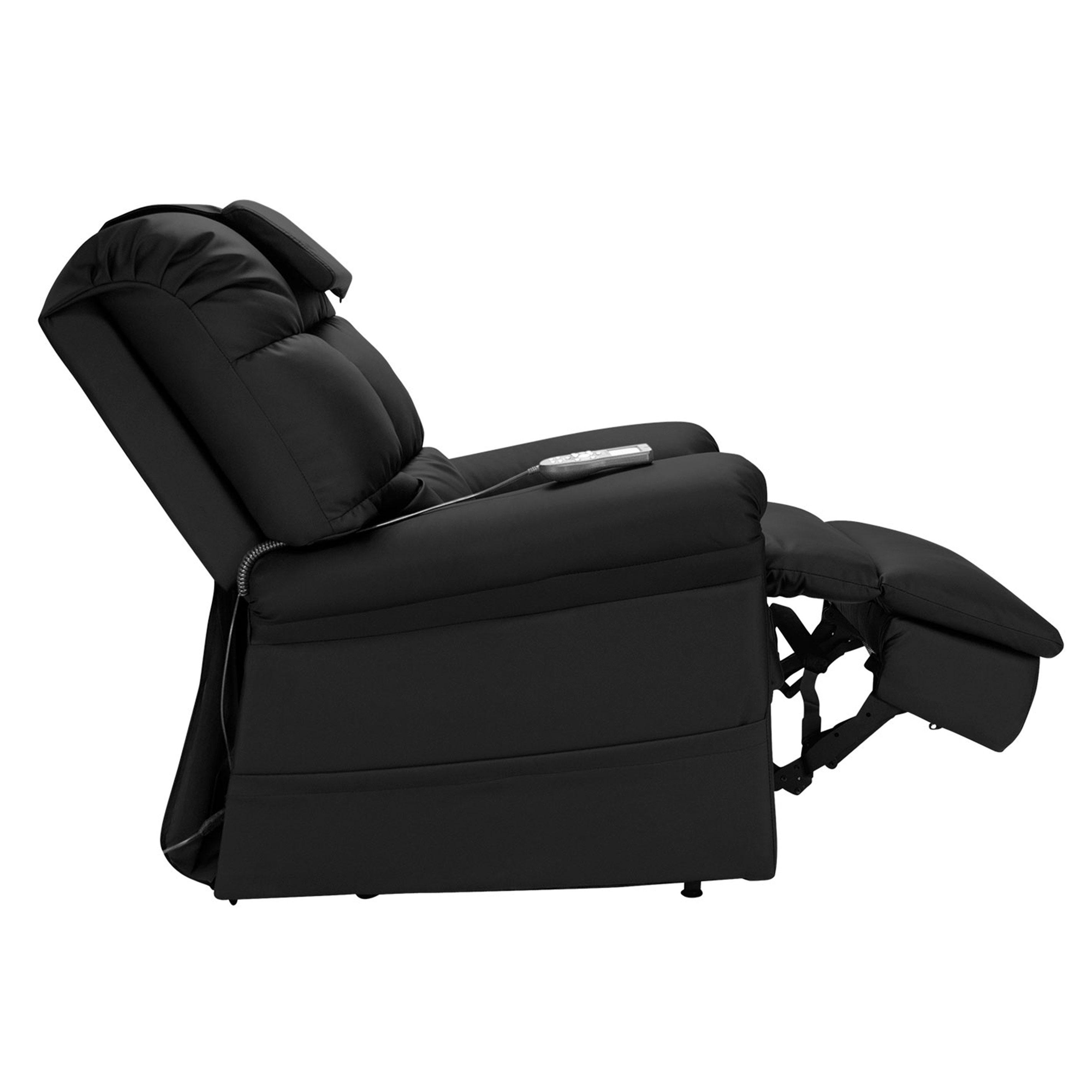 Incredible Wiselift 450 Sleeper Lift Chair Recliner Midnight Enduralux Leather Machost Co Dining Chair Design Ideas Machostcouk