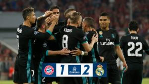 VIDEO: Bayern Munchen vs Real Madrid 1-2 – Highlights & Goals