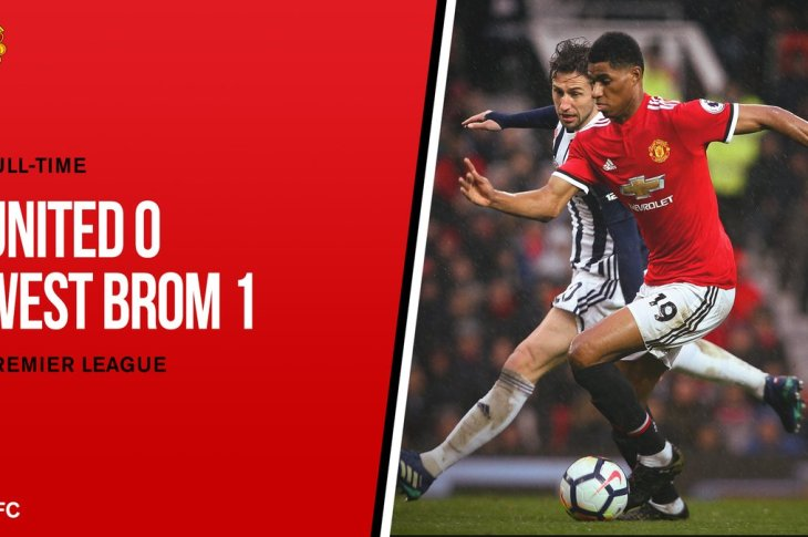 VIDEO: Manchester United vs West Brom 0-1 – Highlights & Goals
