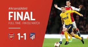 VIDEO: Arsenal vs Atletico Madrid 1-1 – Highlights & Goals