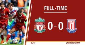 VIDEO: Liverpool vs Stoke City 0-0 – Highlights
