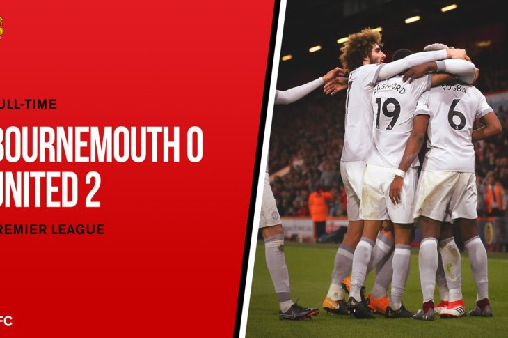 DOWNLOAD VIDEO: Bournemouth vs Manchester United 0-2 – Highlights & Goals