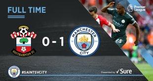 VIDEO: Southampton vs Manchester City 0-1 – Highlights & Goals