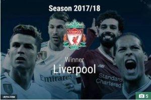 Liverpool Crowned UEFA Champions League Winners On UEFA Website weeks Before Meeting Real Madrid