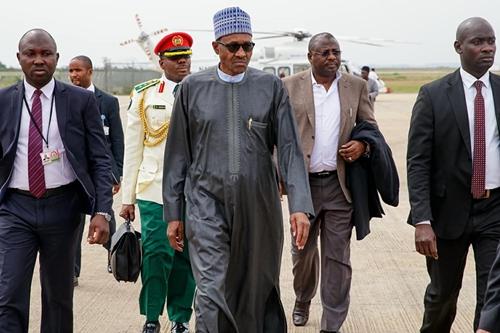 President Buhari Departs To London For Medical Trip (Photos)