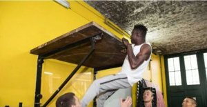 PHOTOS: African Spiderman Finally Begins Firefighting Training In France