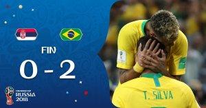VIDEO: Serbia 0 vs 2 Brazil (2018 World Cup) - Highlights & Goals