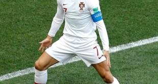 #2018WorldCup: Cristiano Ronaldo Tells Story Behind New 'Goatee' Goal Celebration After Scoring