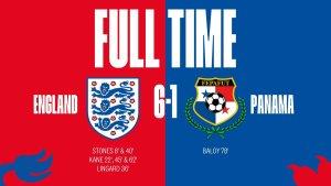 VIDEO: England 6 vs 1 Panama– Highlights & Goals