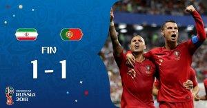 VIDEO: Iran 1 vs 1 Portugal (2018 World Cup) – Highlights & Goals