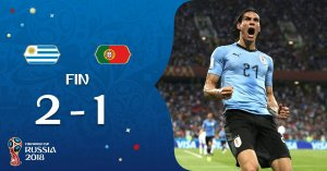 VIDEO: Uruguay 2 vs 1 Portugal (2018 World Cup) – Highlights & Goals