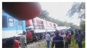 Passengers stranded after a train heading to Kano from Lagos, derailed in a forest in Kwara State