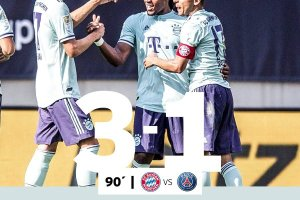 VIDEO: Bayern Munich 3 vs 1 Paris Saint Germain [Champions Cup] - Highlights & Goals