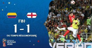 VIDEO: Colombia 1 vs 1 England (Penalty 3-4 ) 2018 World Cup – Highlights & Goals