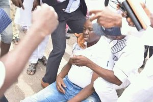 PHOTOS: Fayose Loses Consciousness In Government House