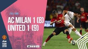 Sanchez Shines As Manchester United Beat AC Milan