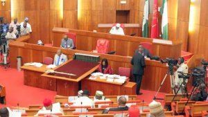 PHOTOS: See Nigerian Lawmakers Getting High On Beer Inside The National Assembly Building
