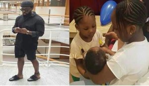 Timaya Says He's Done Making Babies As He Shows Off His Cute Children