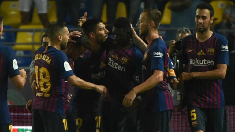 Sevilla 1 vs 2 Barcelona (Super Cup) - Highlights & Goals