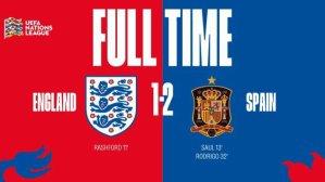 VIDEO: England 1 vs 2 Spain (UEFA Nations League) – Highlights & Goals