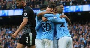 Manchester City 5 vs 0 Burnley (Premier League) - Highlights & Goals