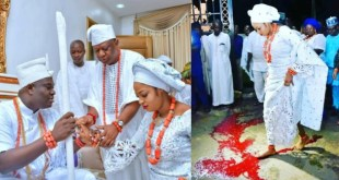 PHOTOS: Ooni Of Ife Wife Continues Her Marriage Rites Ritual