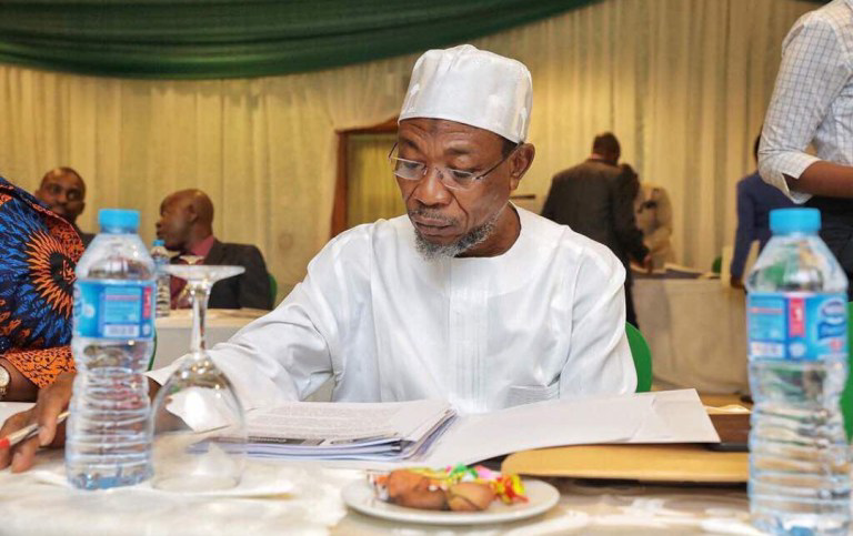 Ex Governor Aregbesola Says He is Now Homeless, Nigerians React