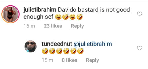 Davido, Juliet Ibrahim React To Revelation Of INSTABLOG9JA Founder's Identity