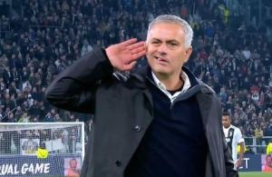 I Was Insulted For 90 Minutes - Mourinho Justifies Juventus Gesture